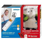 OMRON Gentle Temp 521 Ohrtherm.Onp.+Warmies Schaf